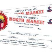 20 gift certificates north market columbus ohio 20 gift certificates negle Images