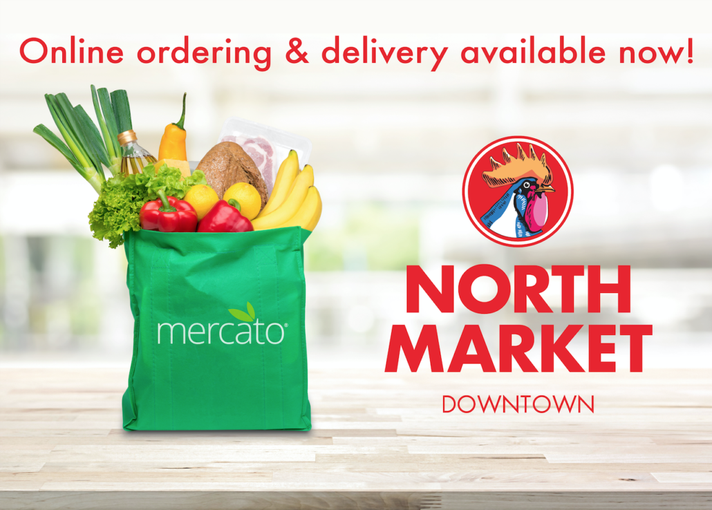 Mercato shopping bag North Market Downtown Online Grocery Delivery